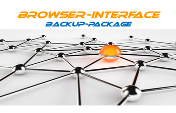 Browser-Interface Back-Package