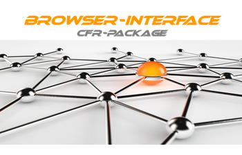 Browser-Interface CFR-Package
